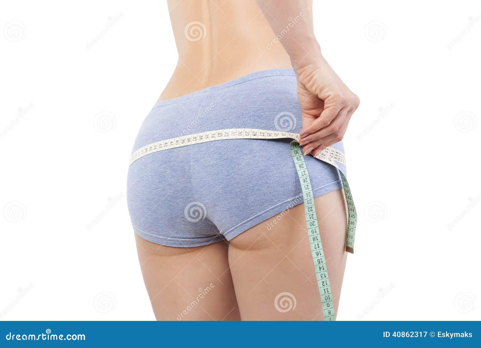 Download Measuring waistline. stock image. Image of loss, perfect - 40862317
