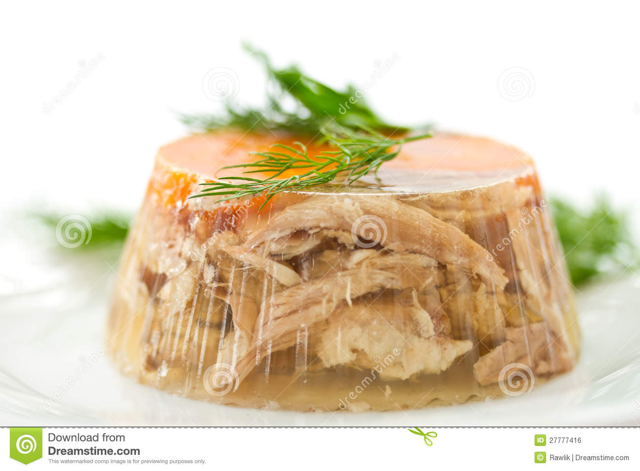 Meat Aspic Royalty Free Stock Image - Image: 27777416