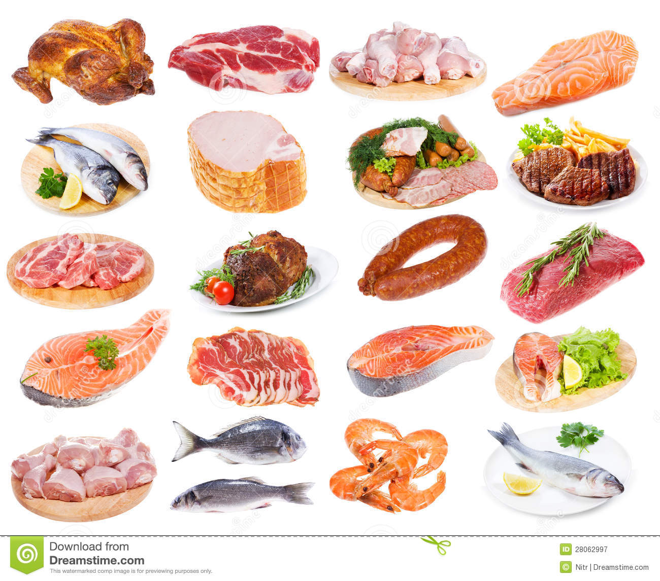 Meat collection