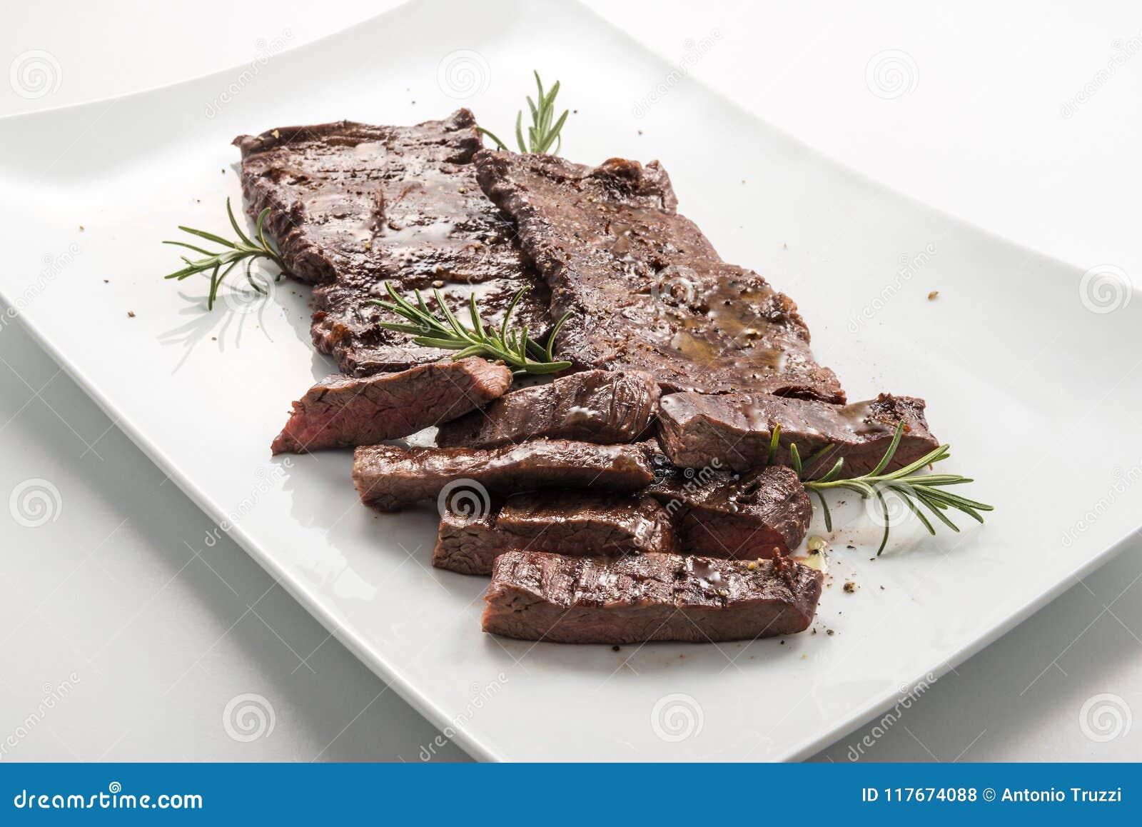 Meat dish Skirt Steak