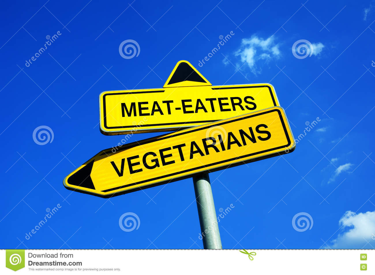 from vegetarian to meat eater
