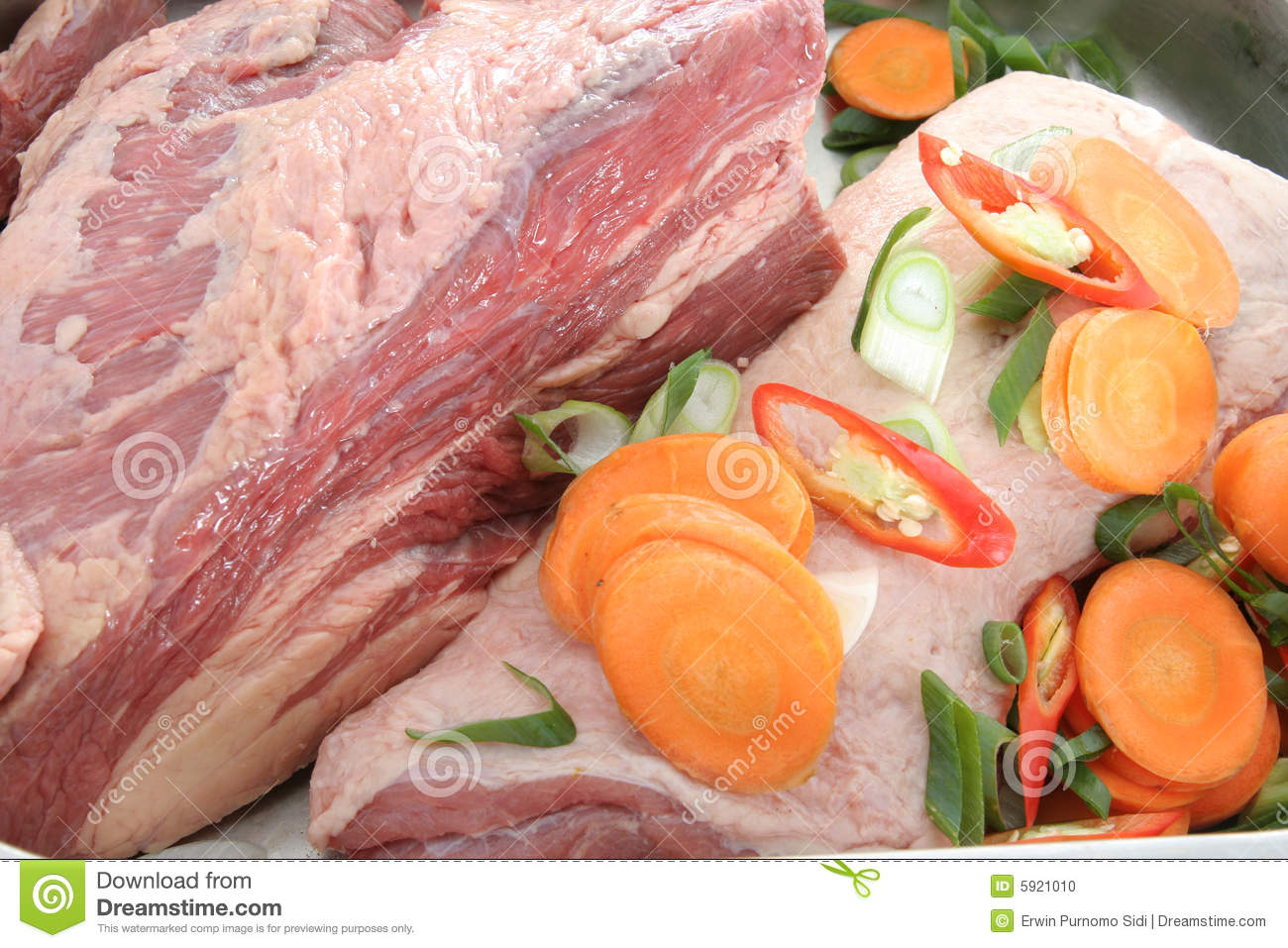 Meat and ingredients