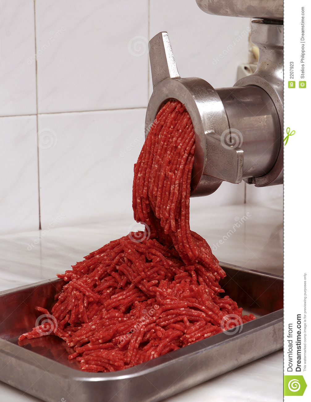 ground beef machine
