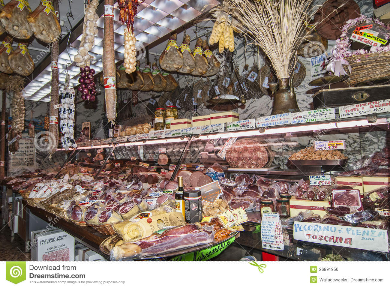 Meat market in florence italy editorial image image for Dream store firenze