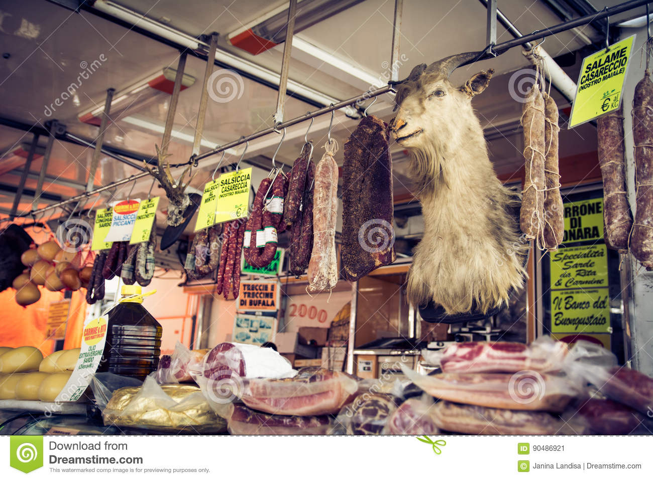 Meat on the market stock image  Image of health, deli - 90486921