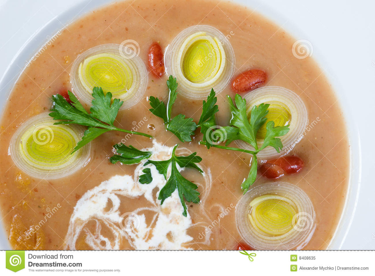 Meat Thick Soup With Vegetable Royalty Free Stock Photo - Image ...