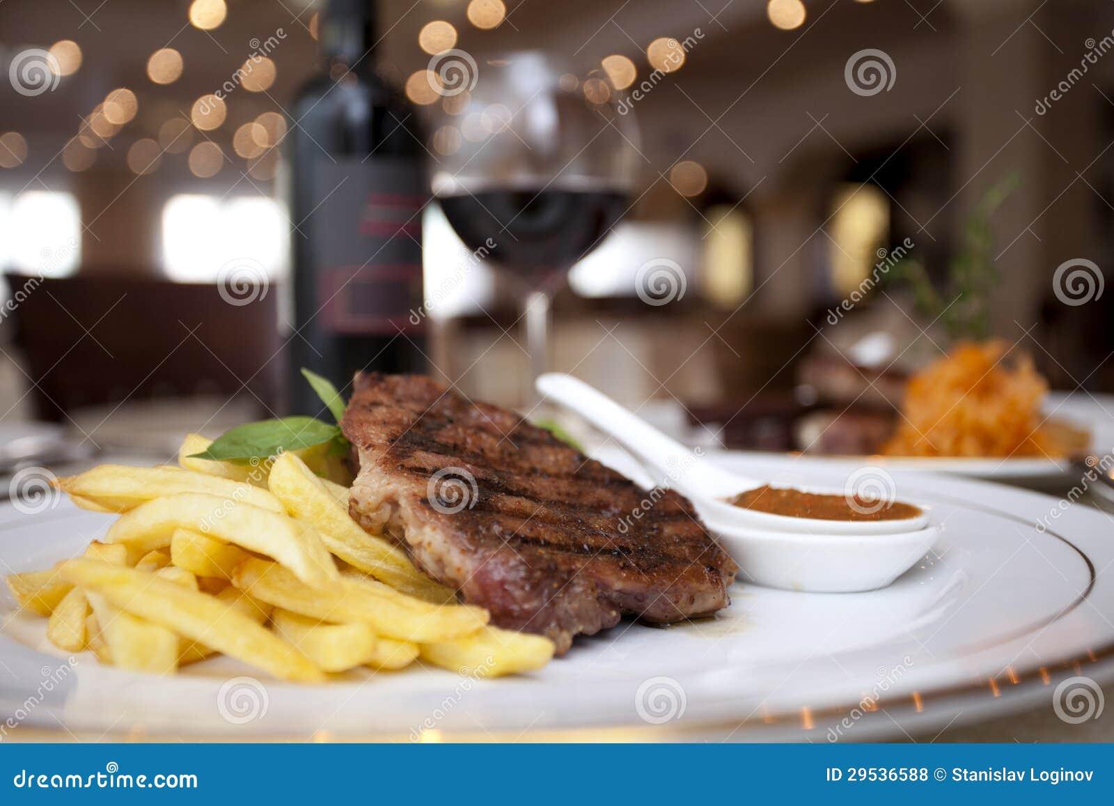 Meat wine som är restourant