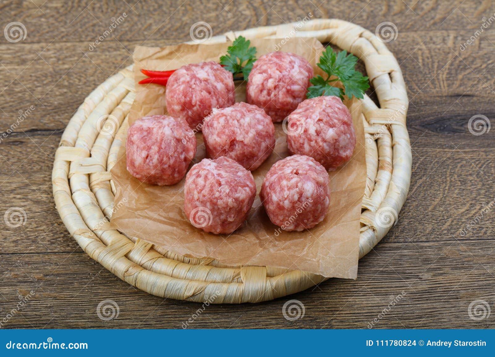 Meatball cru