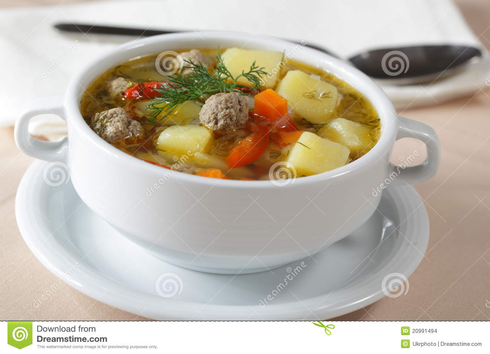 Meatballs Soup Sicilian Meatballs Cabbage Soup Italian Soup Bread