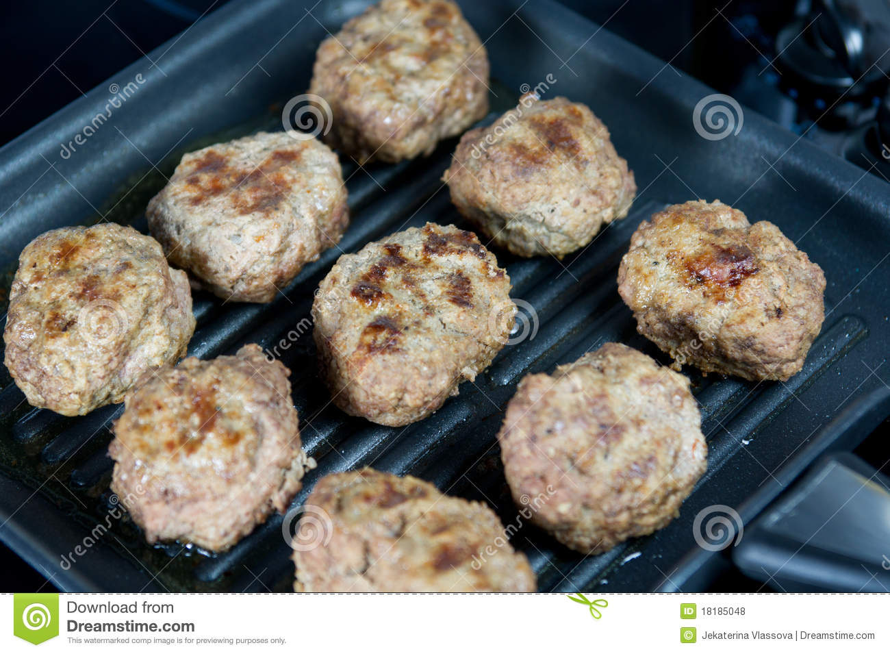 how to make pan fried meatballs