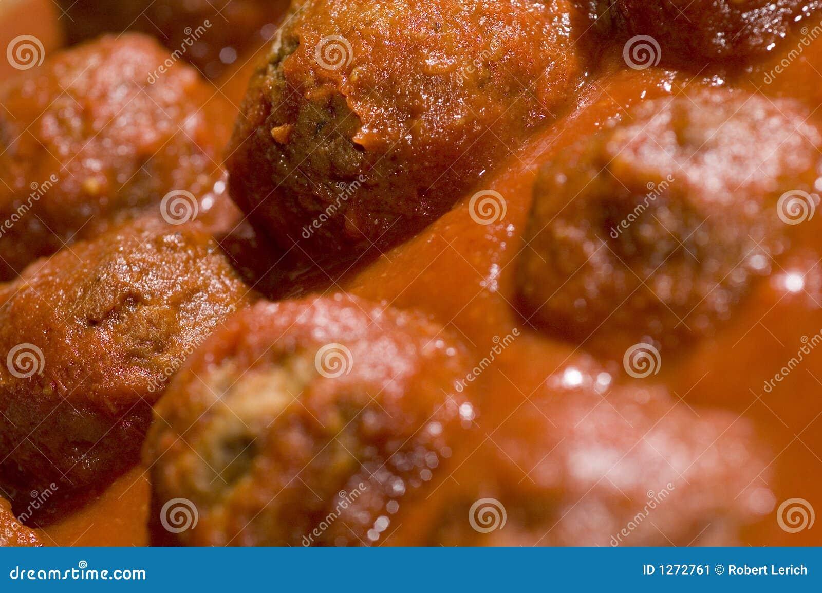 Meatballs tomato sauce