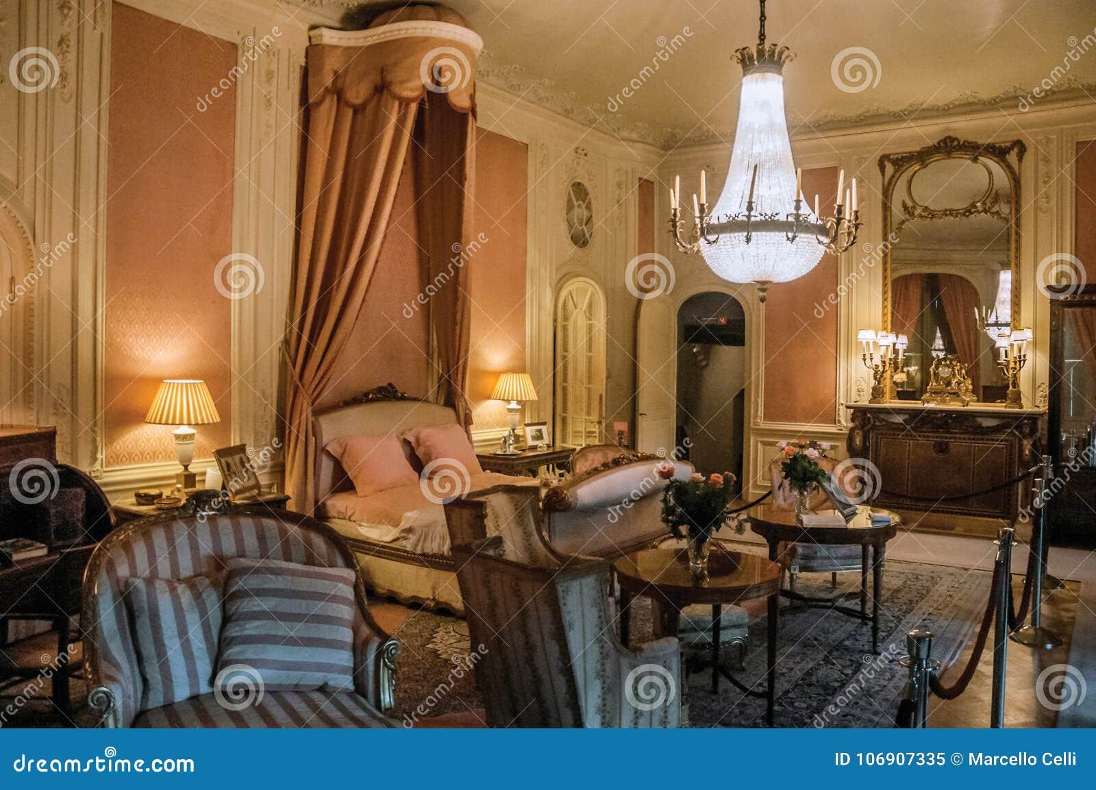 Meble w luksusowej De Haar Roszujący sypialni blisko Utrecht,