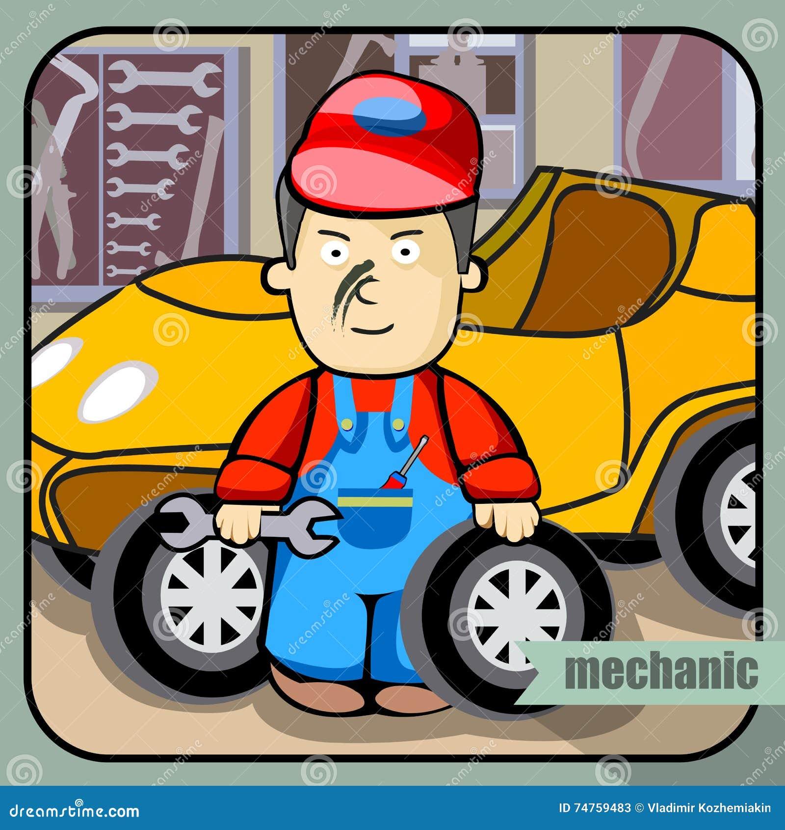 Mecânico da profissão da pessoa