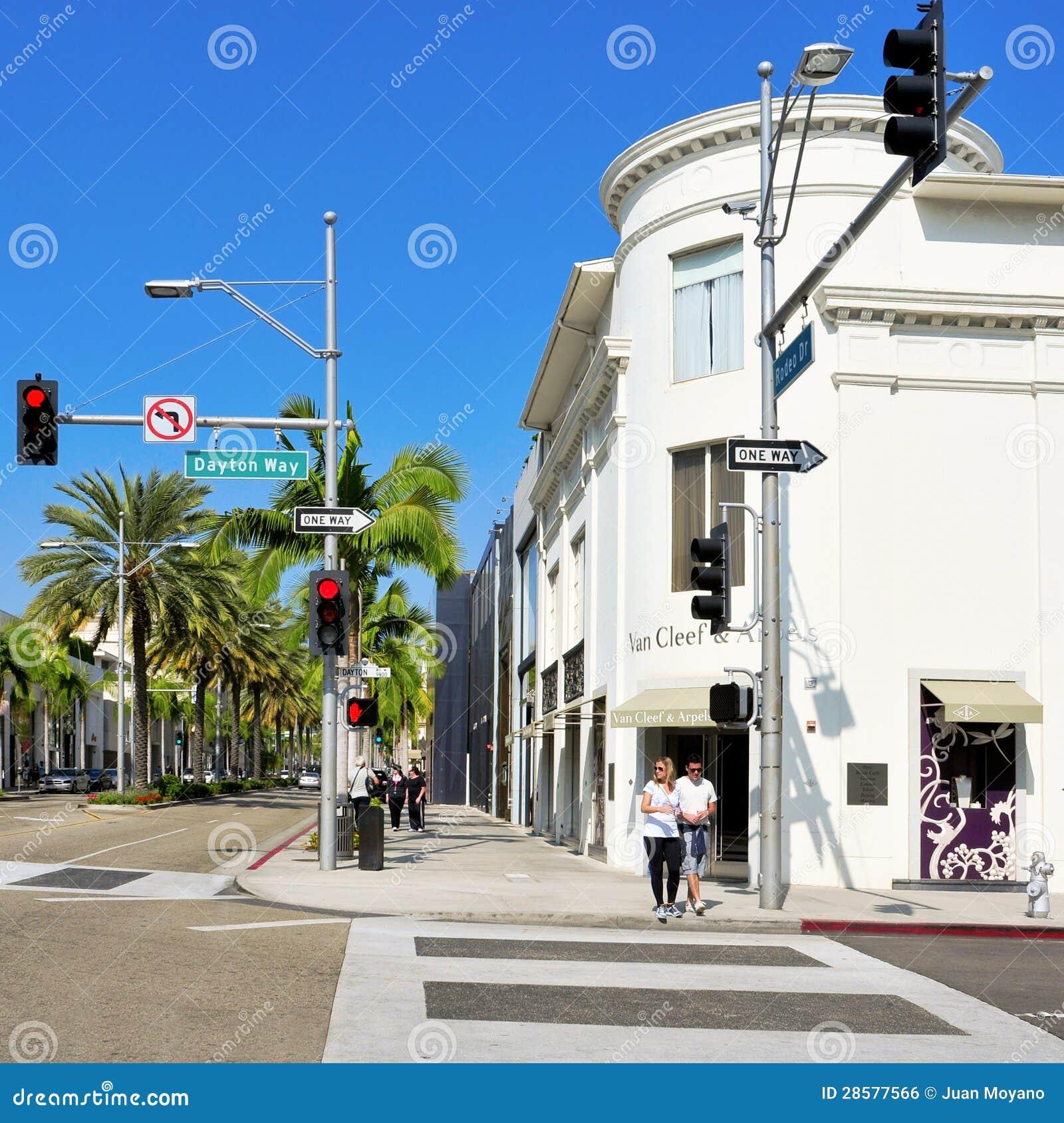 Mecanismo impulsor del rodeo, Beverly Hills, Estados Unidos