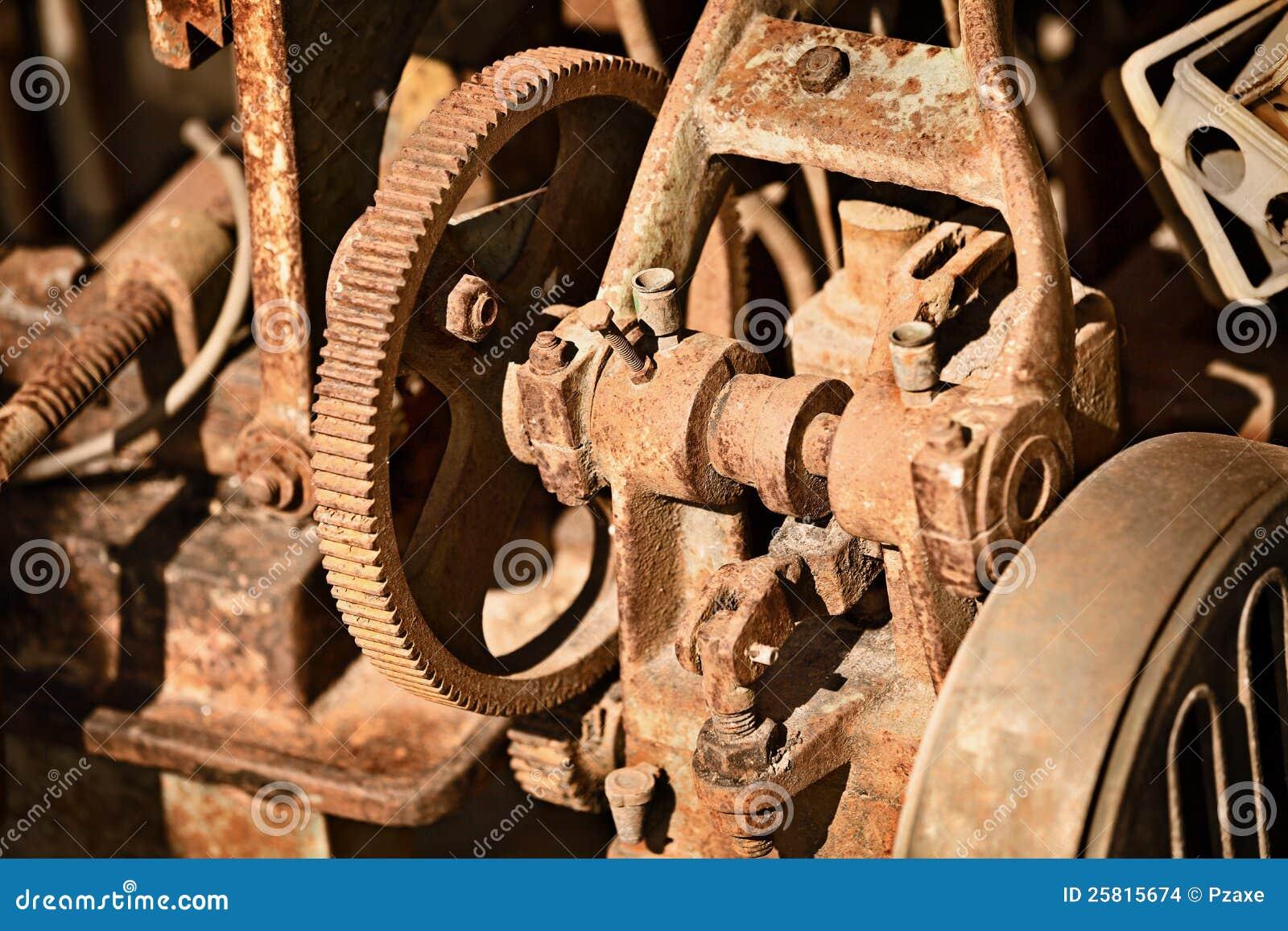 Mecanismo oxidado do metal