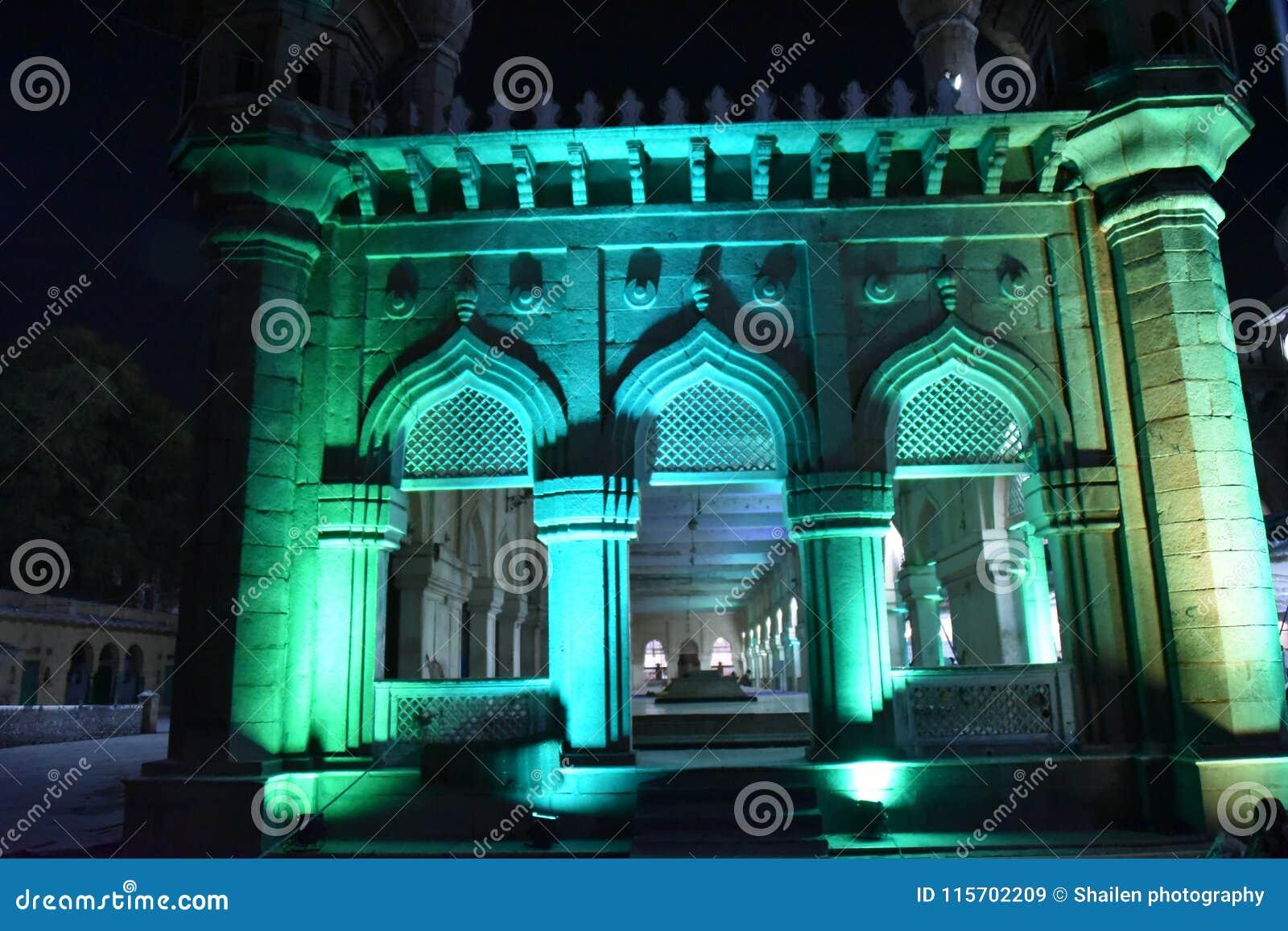 Mecca Masjid, Hyderabad, Telangana, Indien