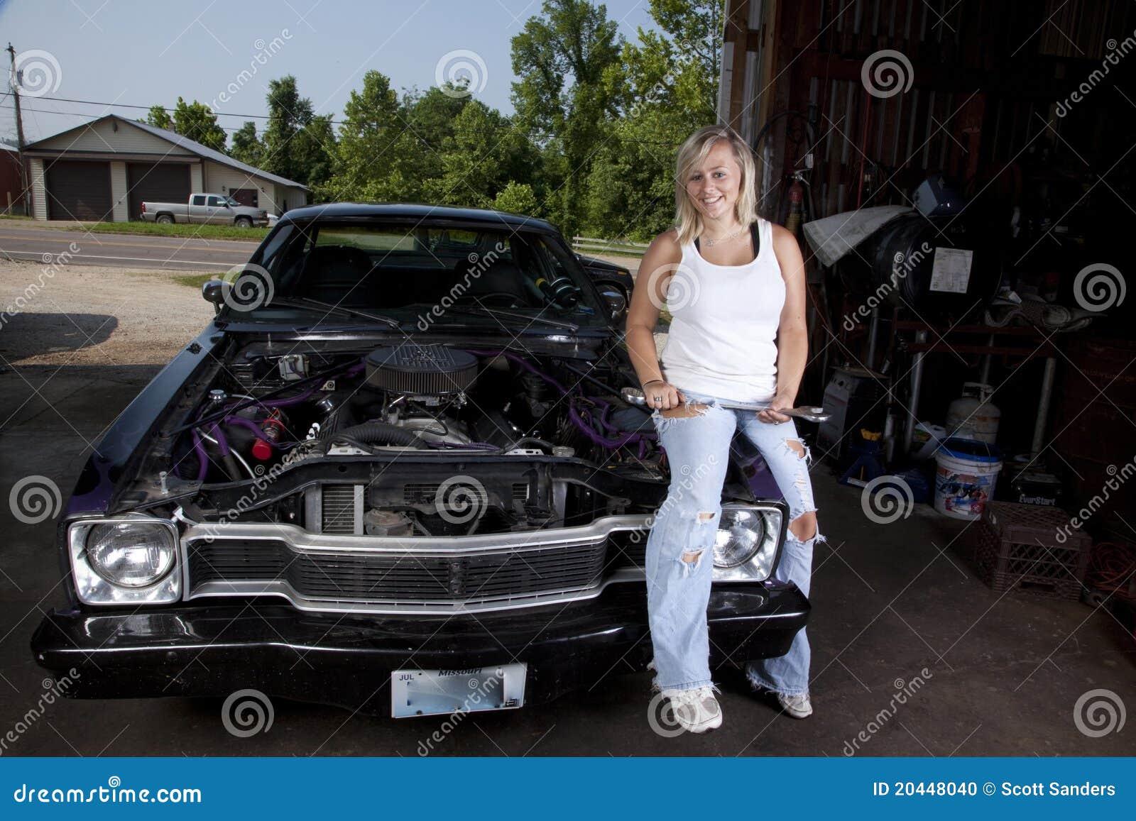 Meccanico femminile