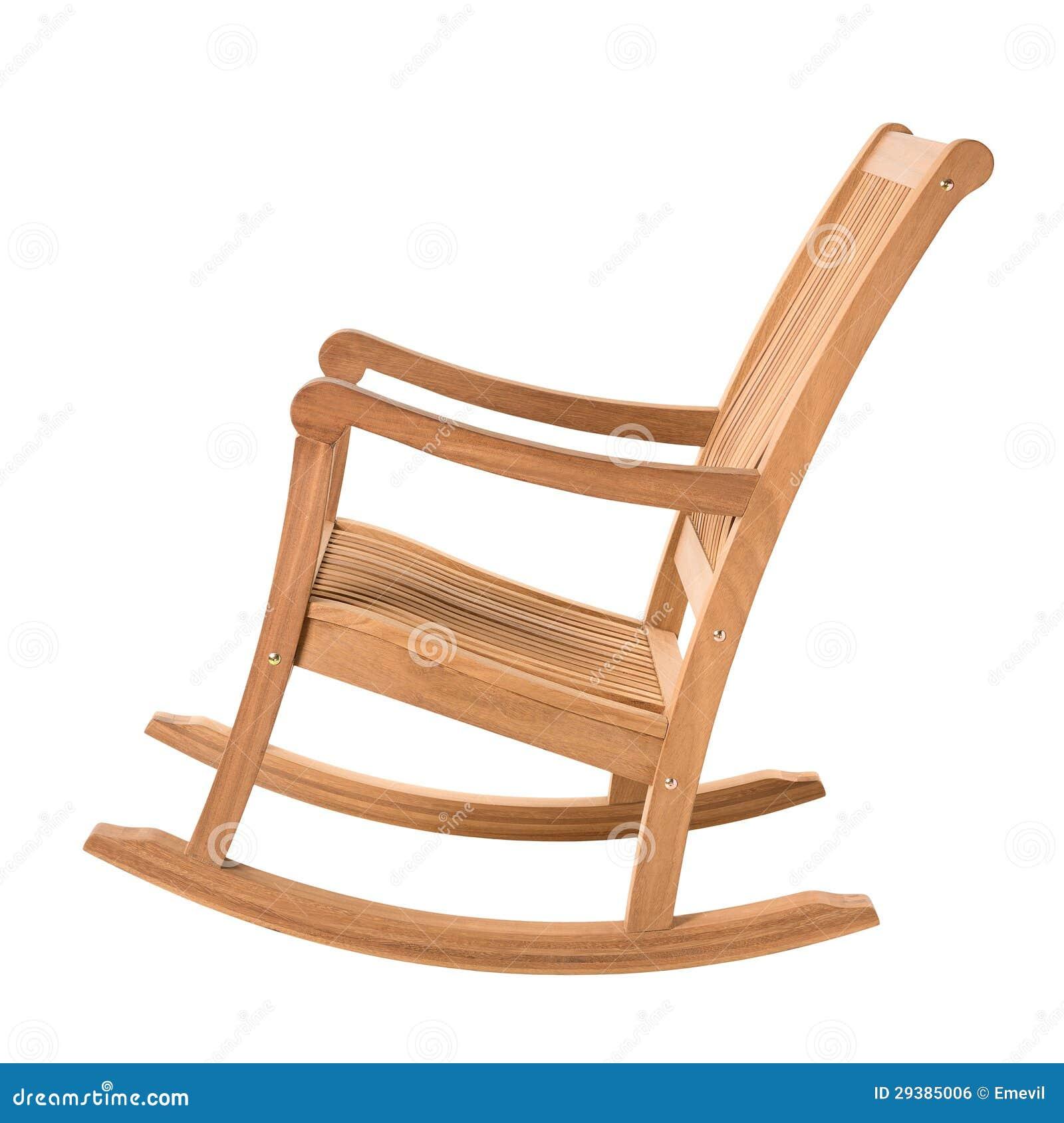 Mecedora de madera imagen de archivo libre de regal as for Mecedora de madera