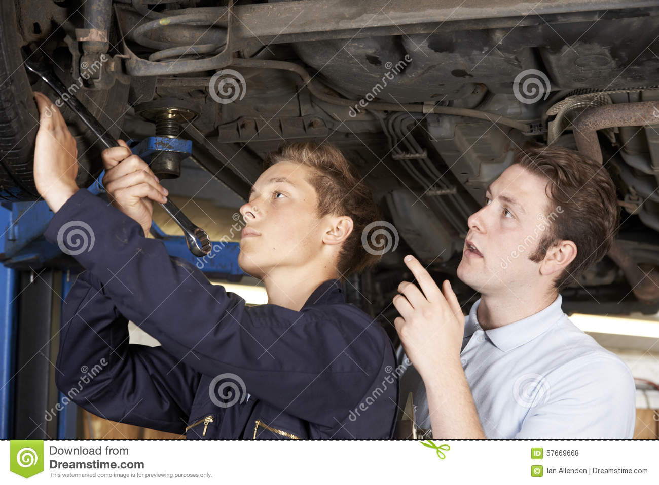 how to become a mechanic apprentice
