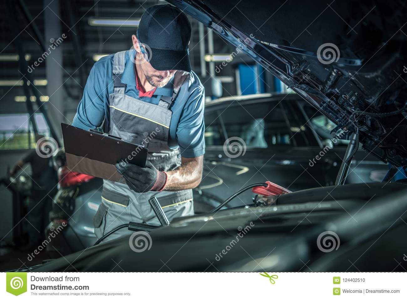 Mechanic Detailed Inspection