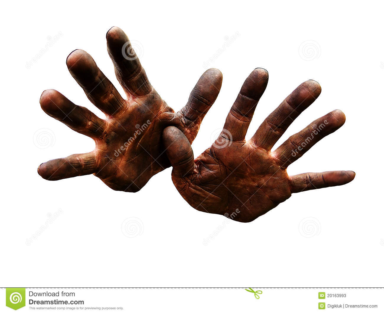 Mechanic's Hands Dirty From Oil. Stock Photos - Image: 20163993 Hospital Powerpoint Background