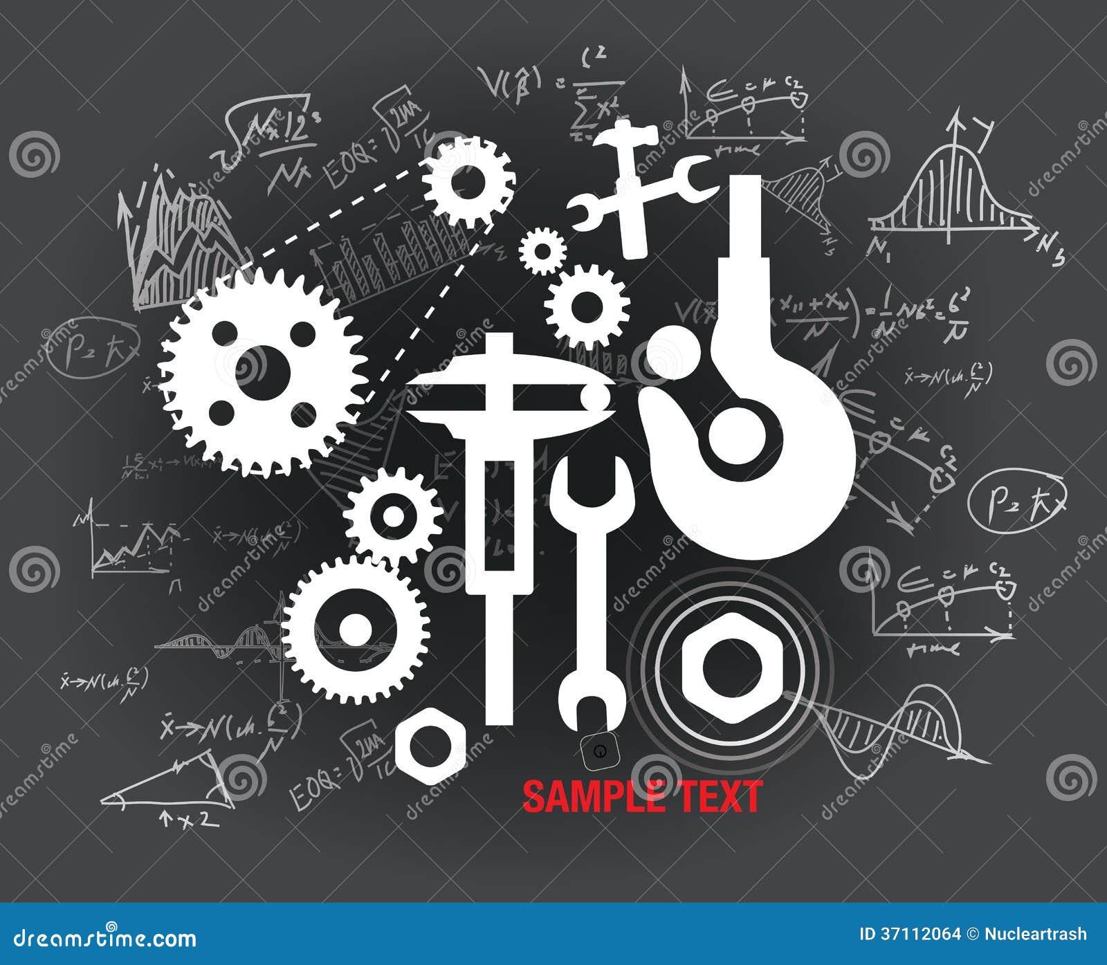 Mechanical Background Stock Images - Image: 37112064