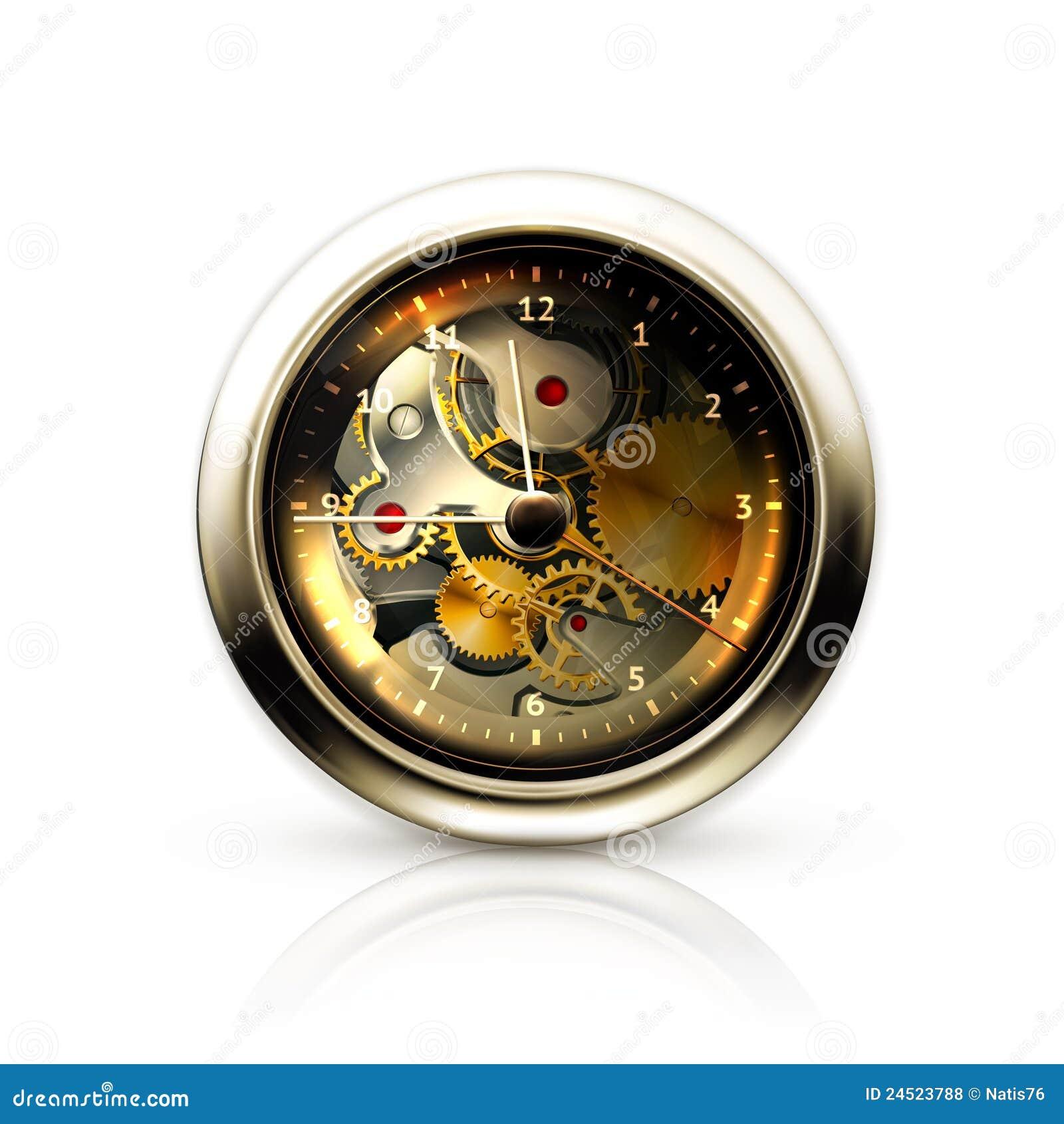 Mechanical Clock Royalty Free Stock Photos Image 24523788