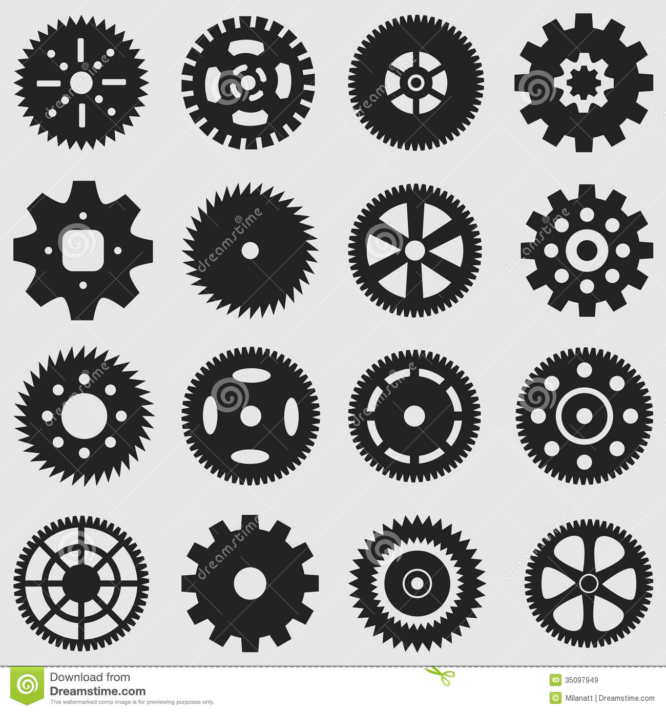 Mechanical Cogs And Gear Wheel Royalty Free Stock Images - Image ...