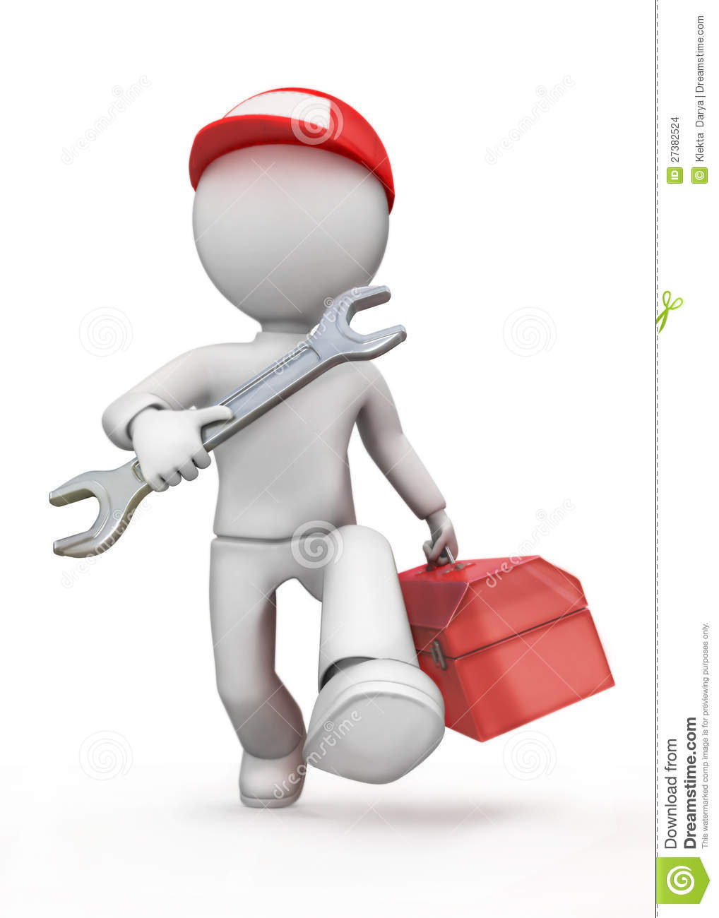 Mechanical Engineer. Stock Images - Image: 27382524