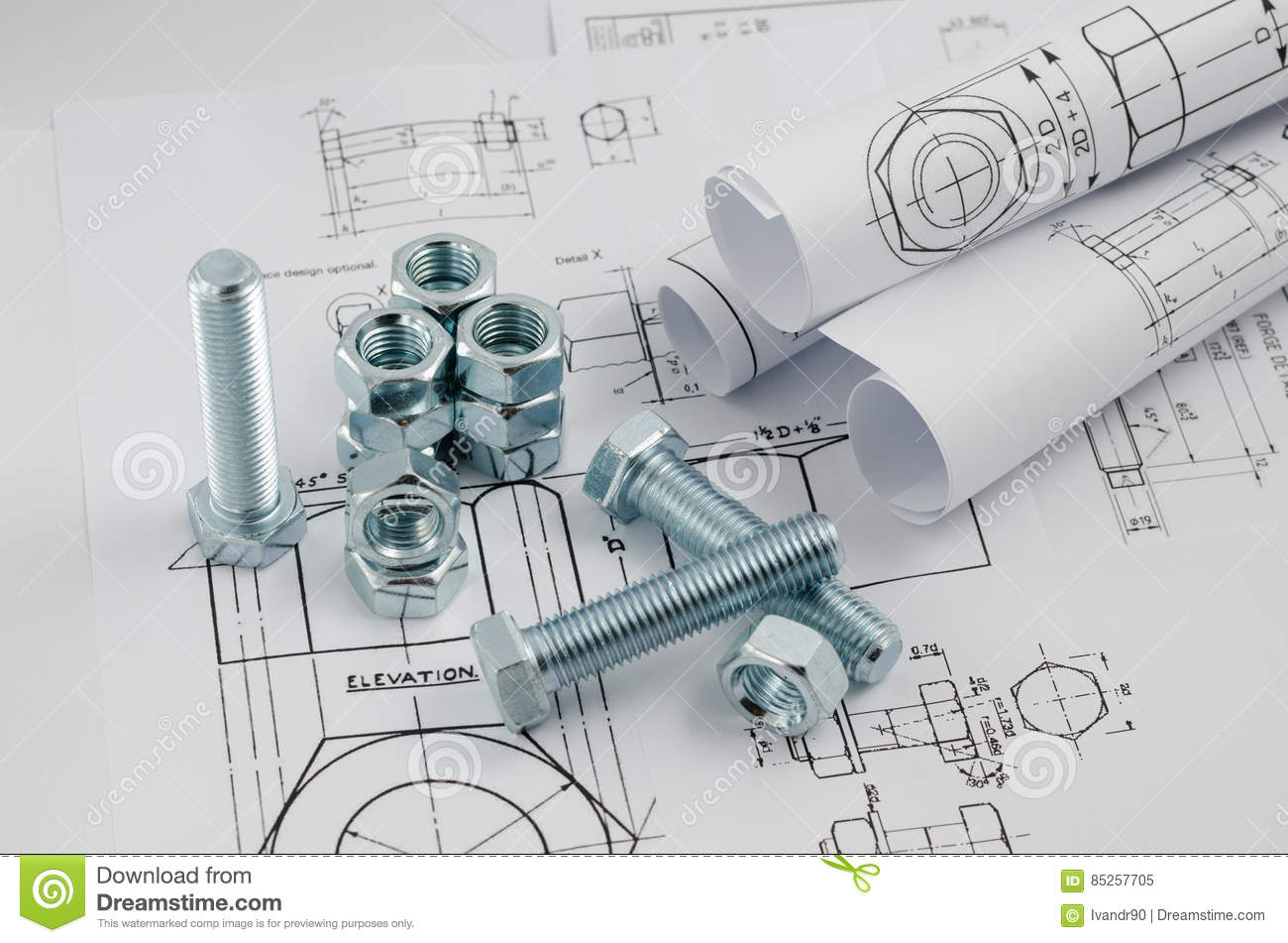 how to draw mechanical engineering drawings