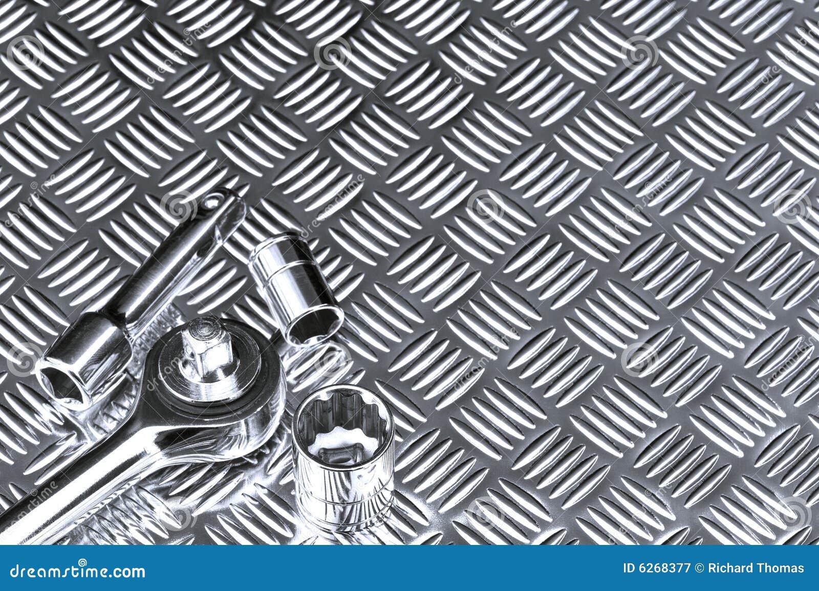 Mechanical Socket Background Stock Image Of Object