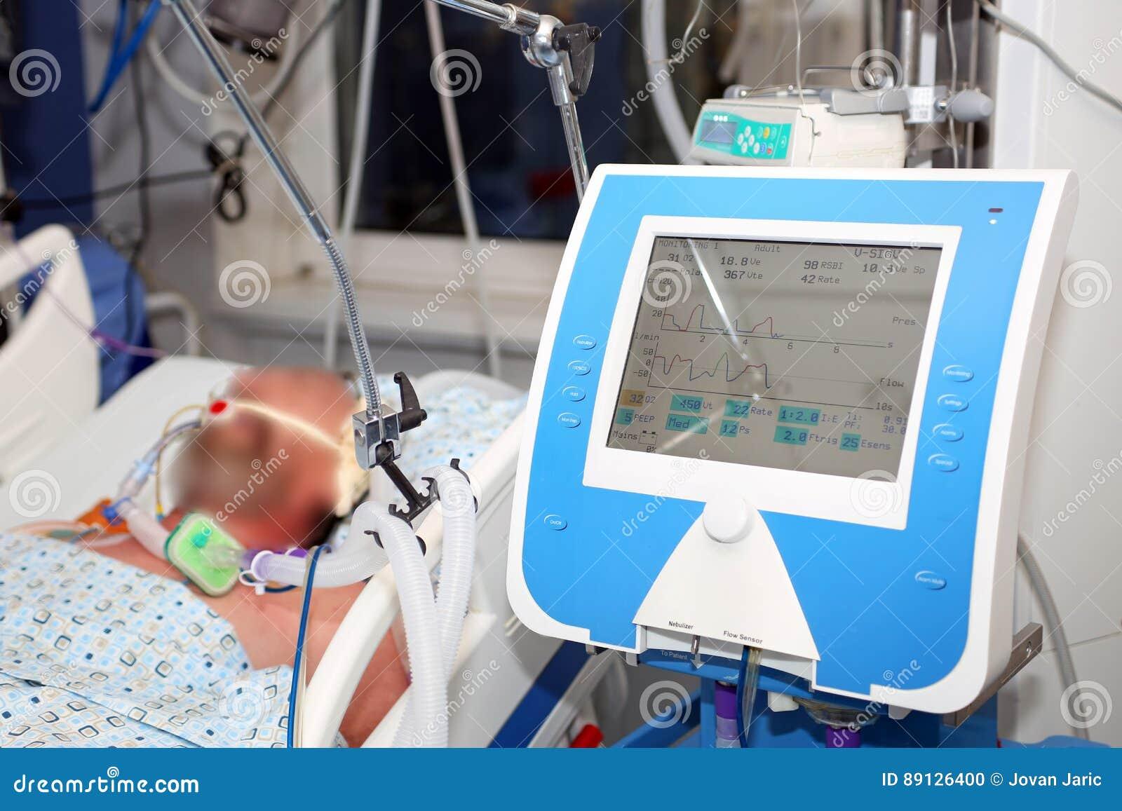 Mechanical ventilation, critical ill patient