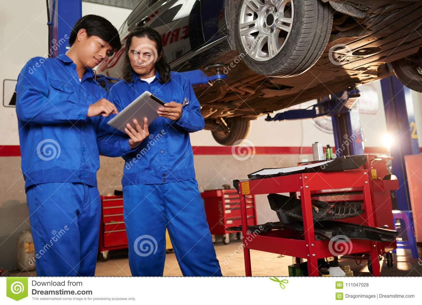 Working mechanics
