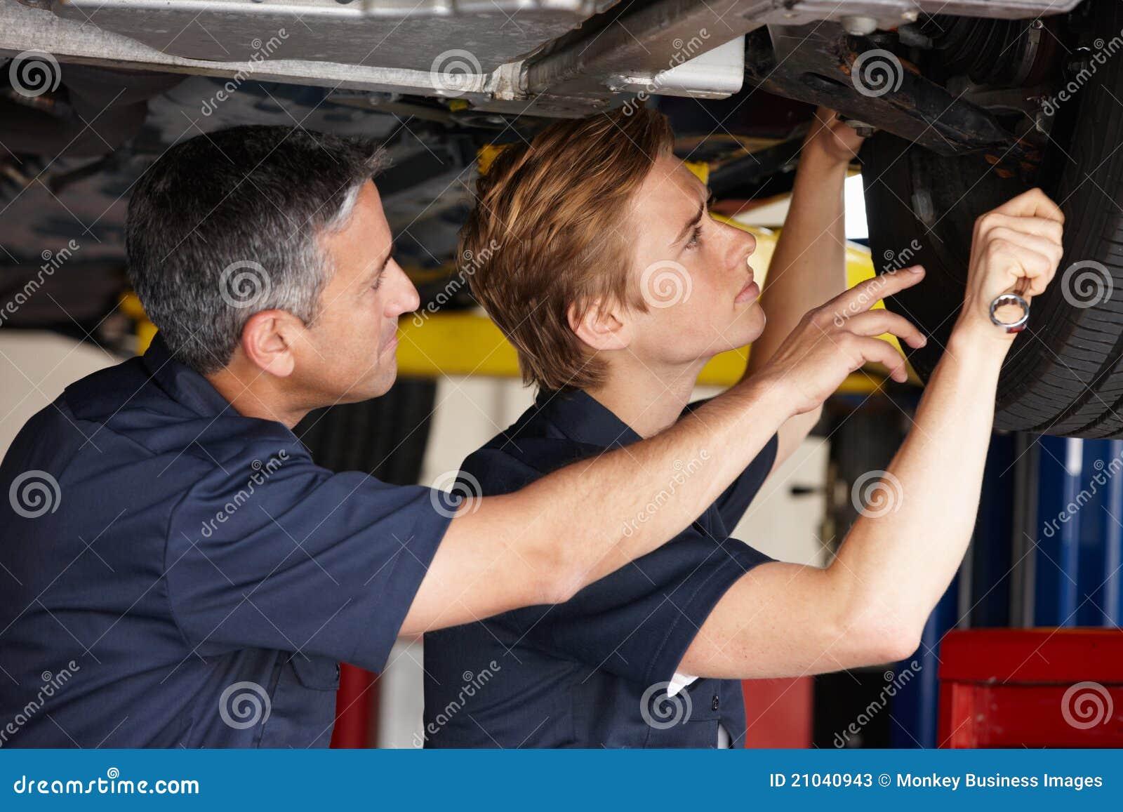 Mechanics At Work Stock Image Image Of Mechanic Adult
