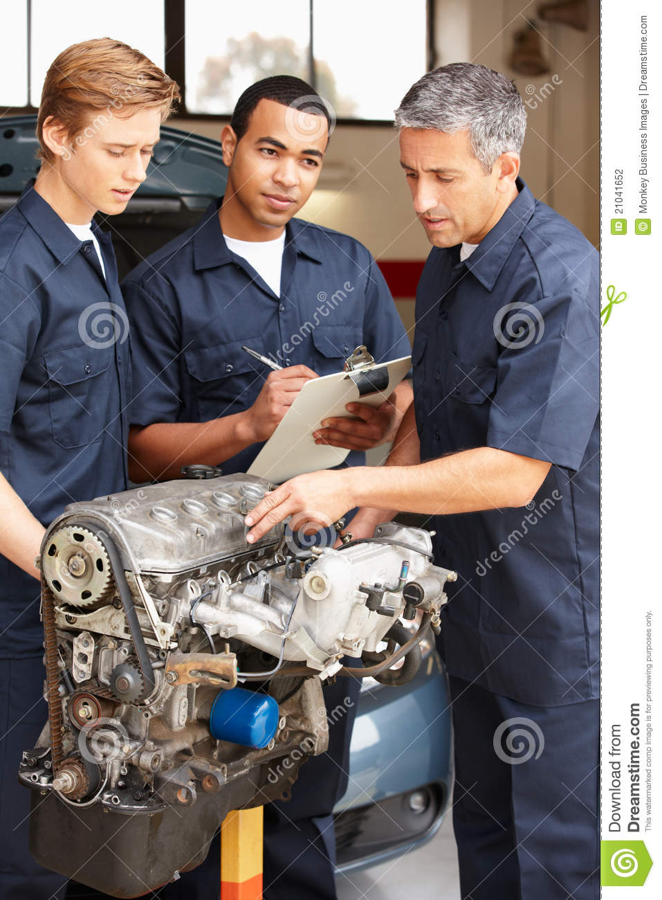 Mechanics At Work Stock Photography Image 21041652
