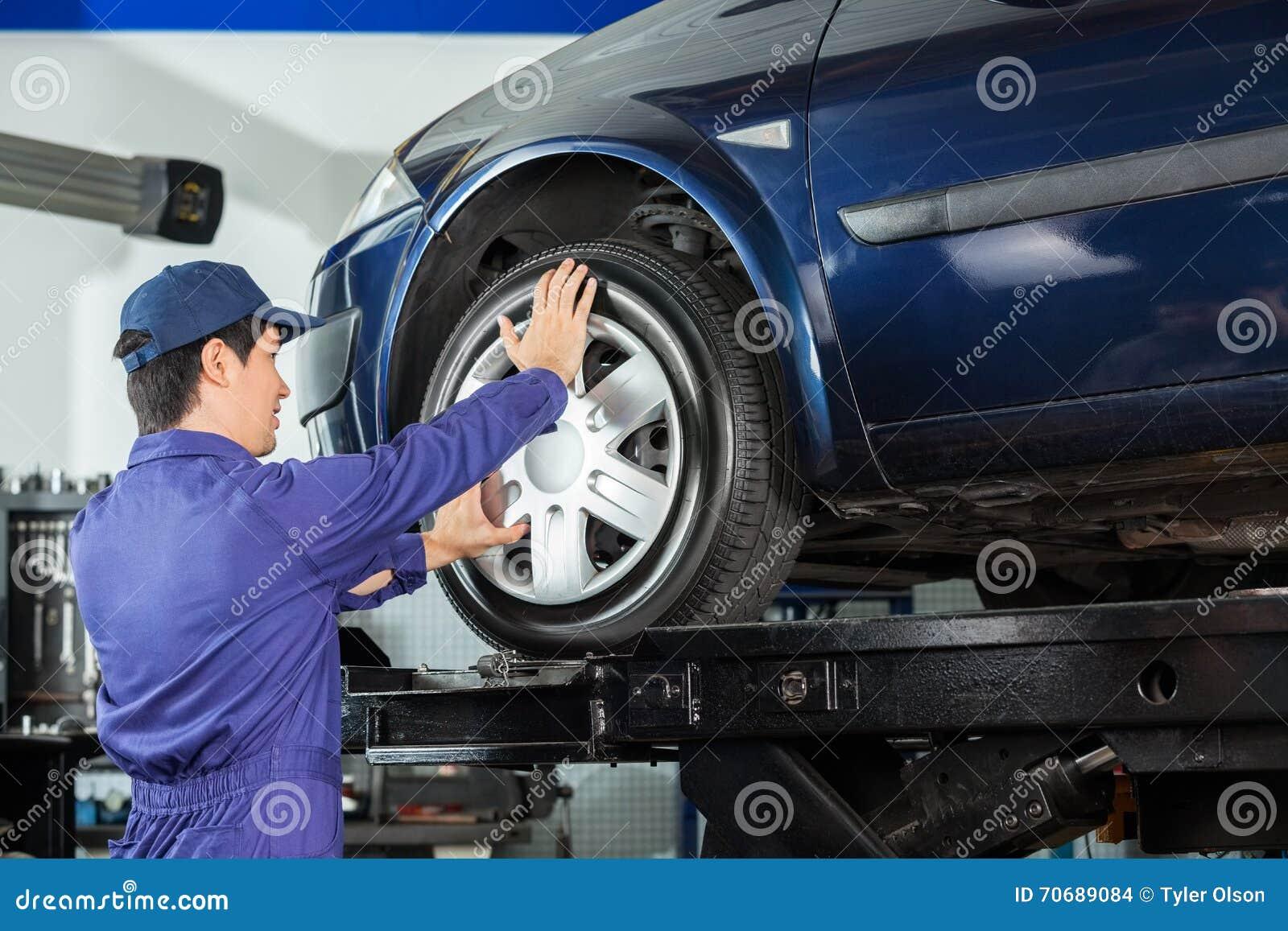 Mechanika naprawiania aliaż Samochodowa opona
