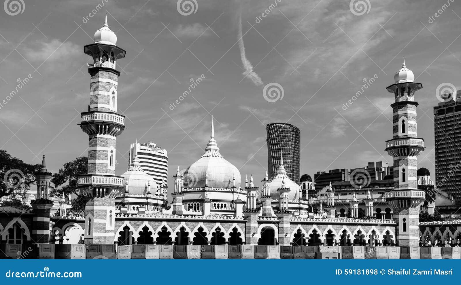 Meczetowy Jamek przy Kuala Lumpur