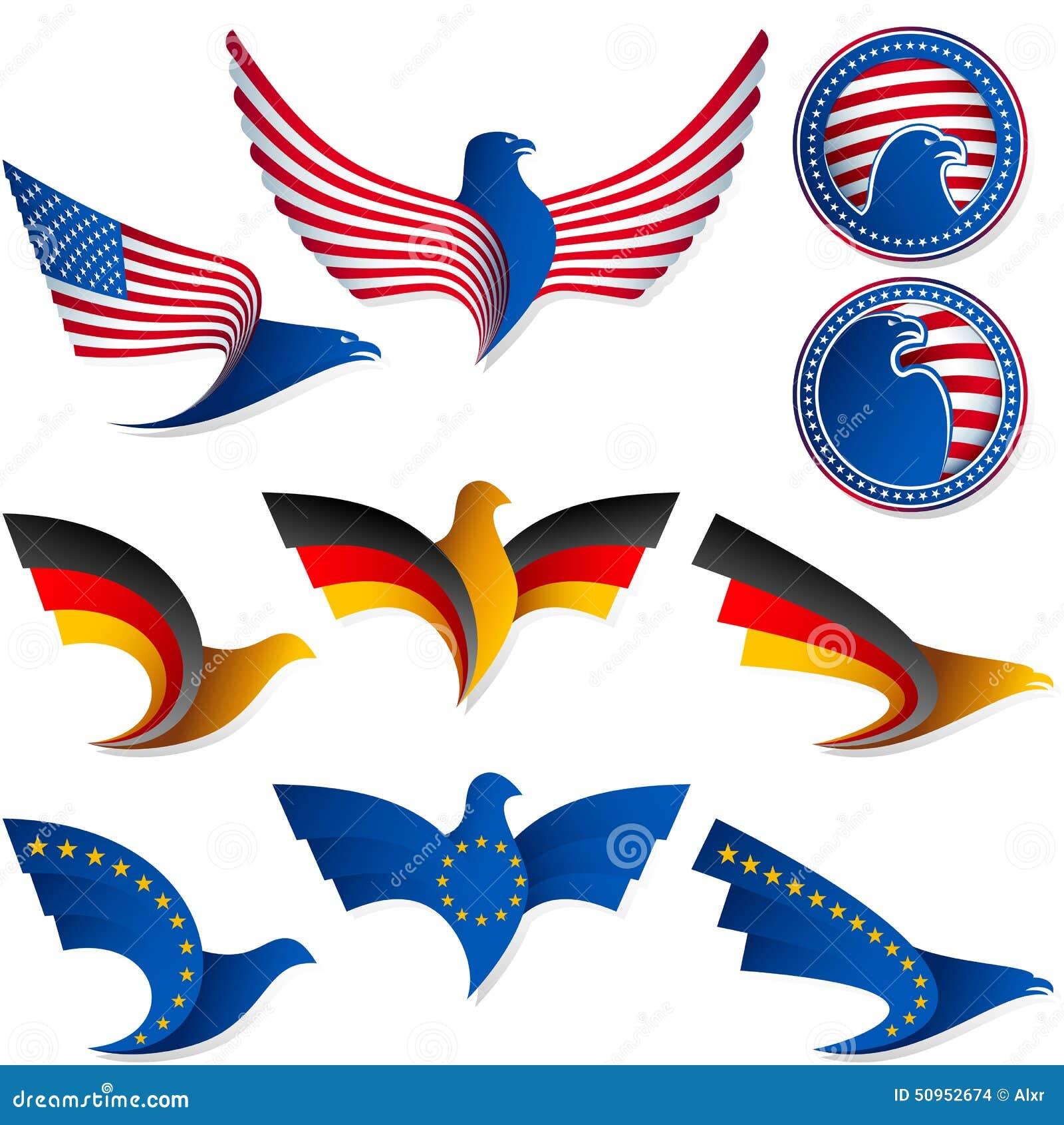 Medaglia stati uniti germania delle insegne di simbolo del - Bandiera della pagina di colorazione della germania ...