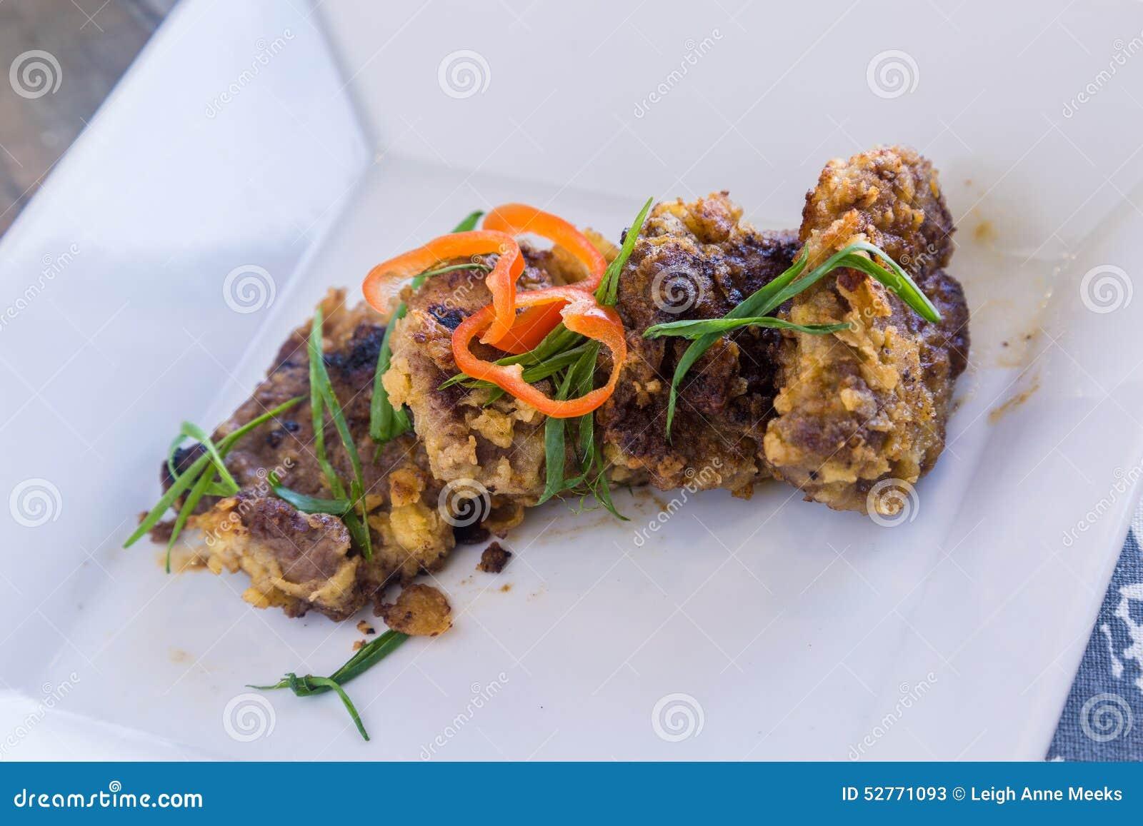 Medaglioni della carne di cervo di Terriyaki