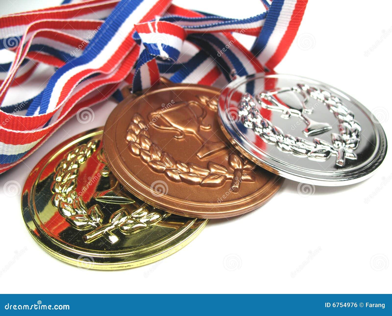 Medaillennahaufnahme