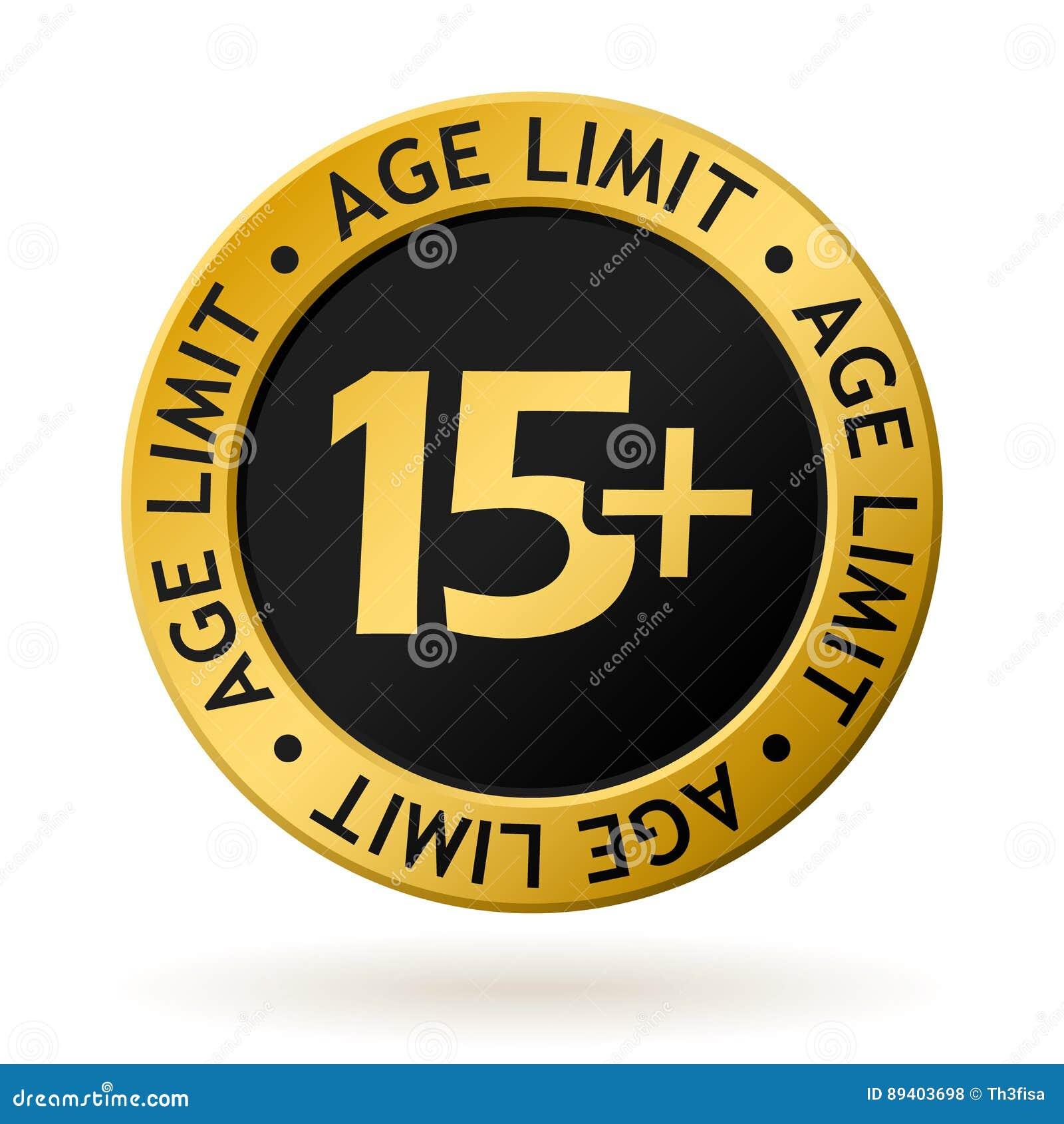 Medalha de ouro do limite de idade do vetor