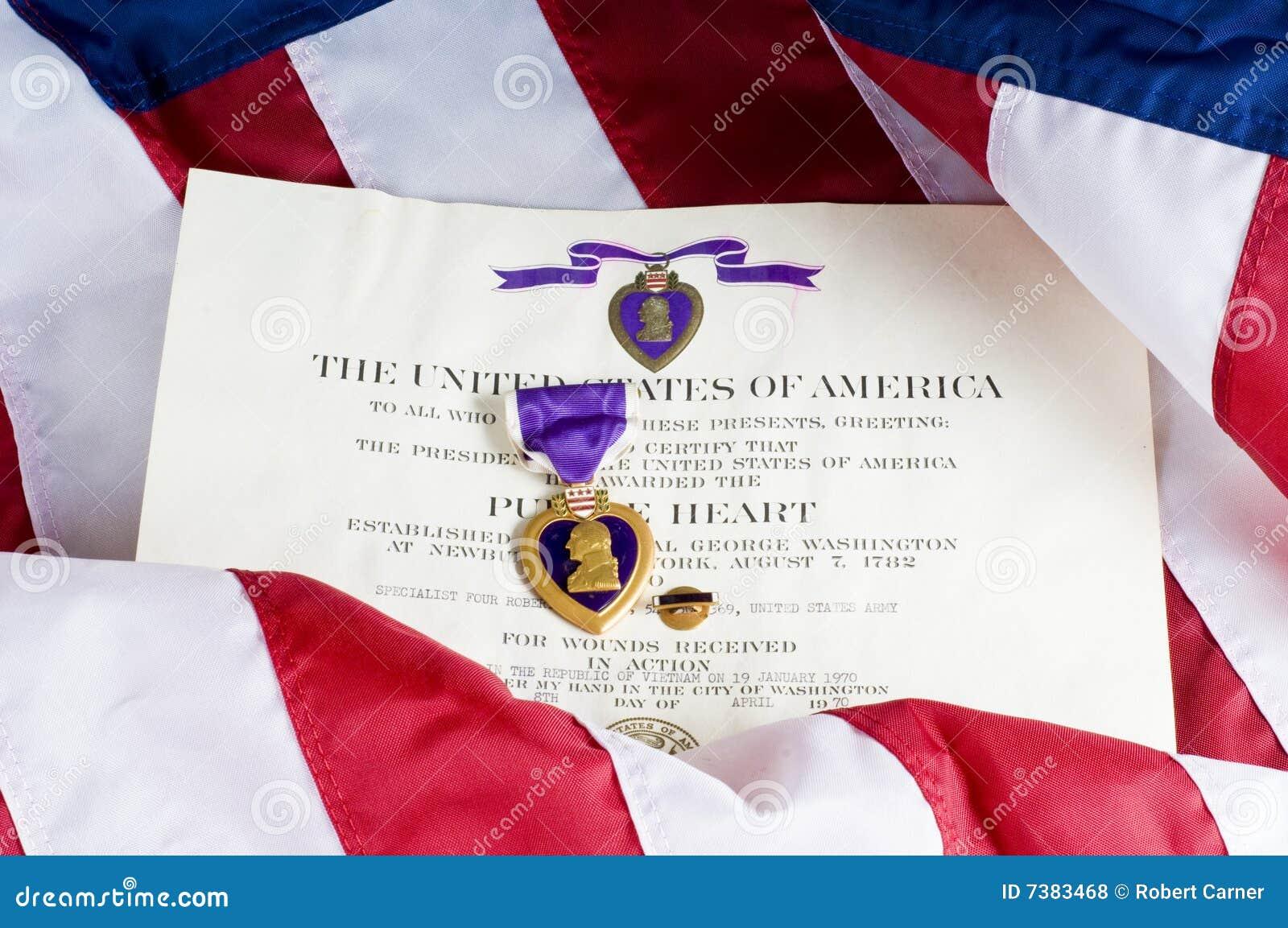 Medalla del corazón púrpura