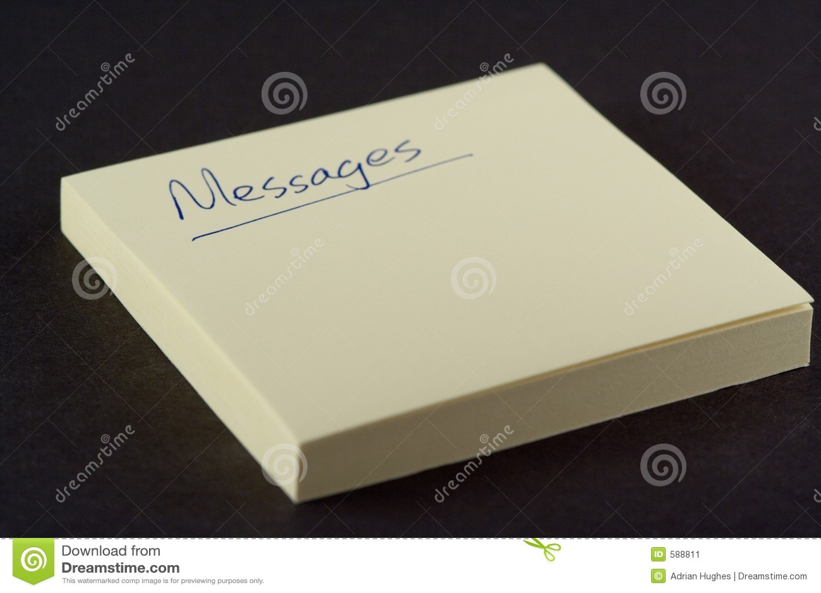 Meddelandeblock