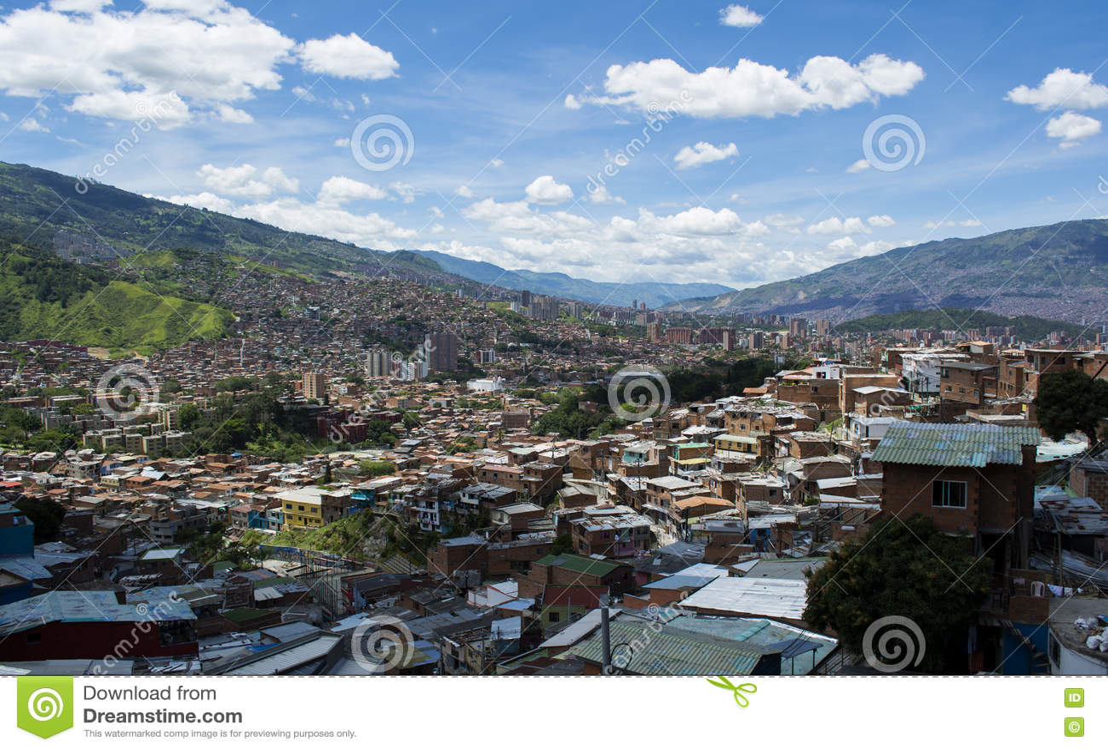 Medellin, cidade em Colômbia