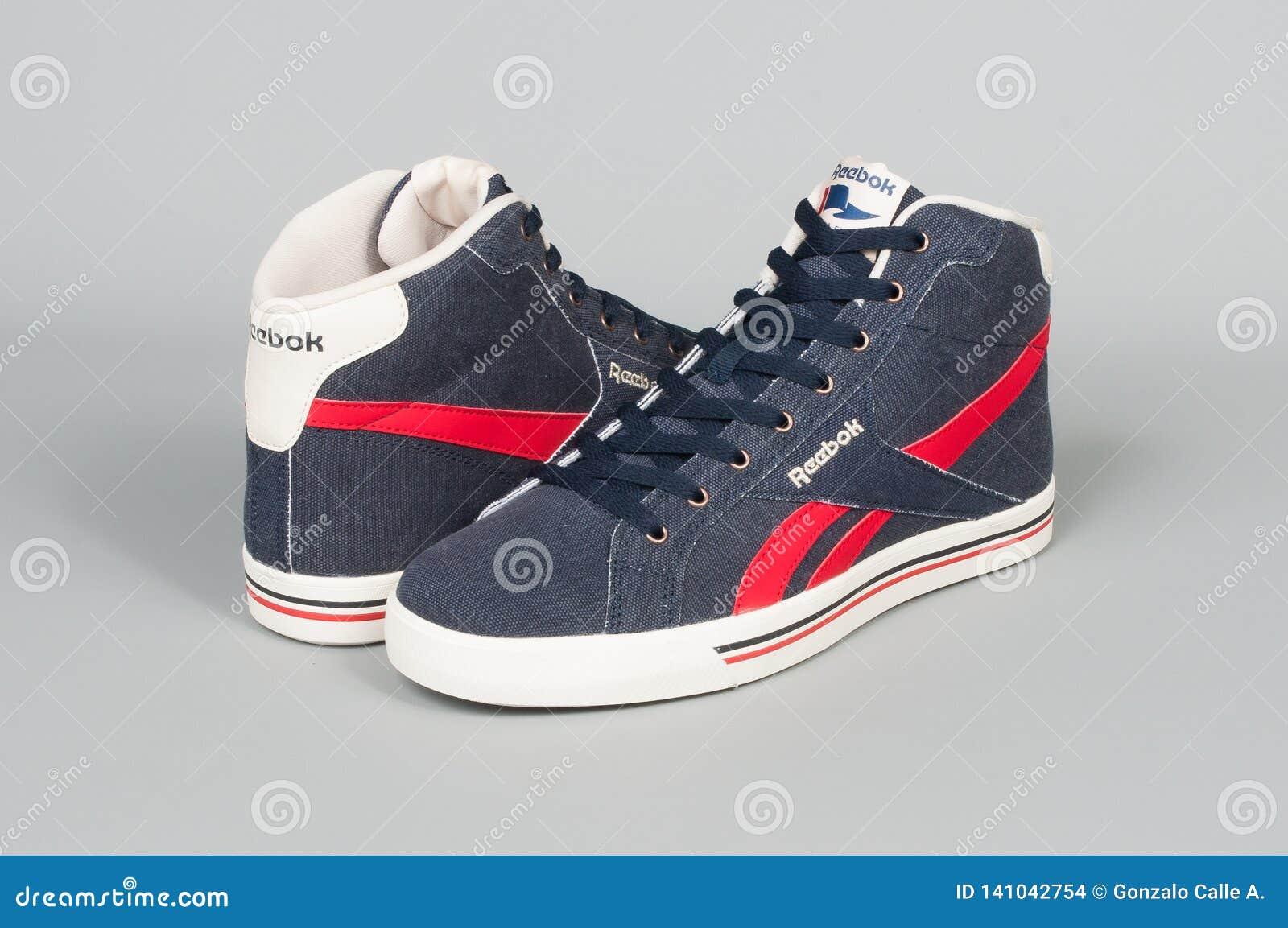 Medellin, Colombia- Marzo 01, 2019: REEBOK Sports Shoes ...