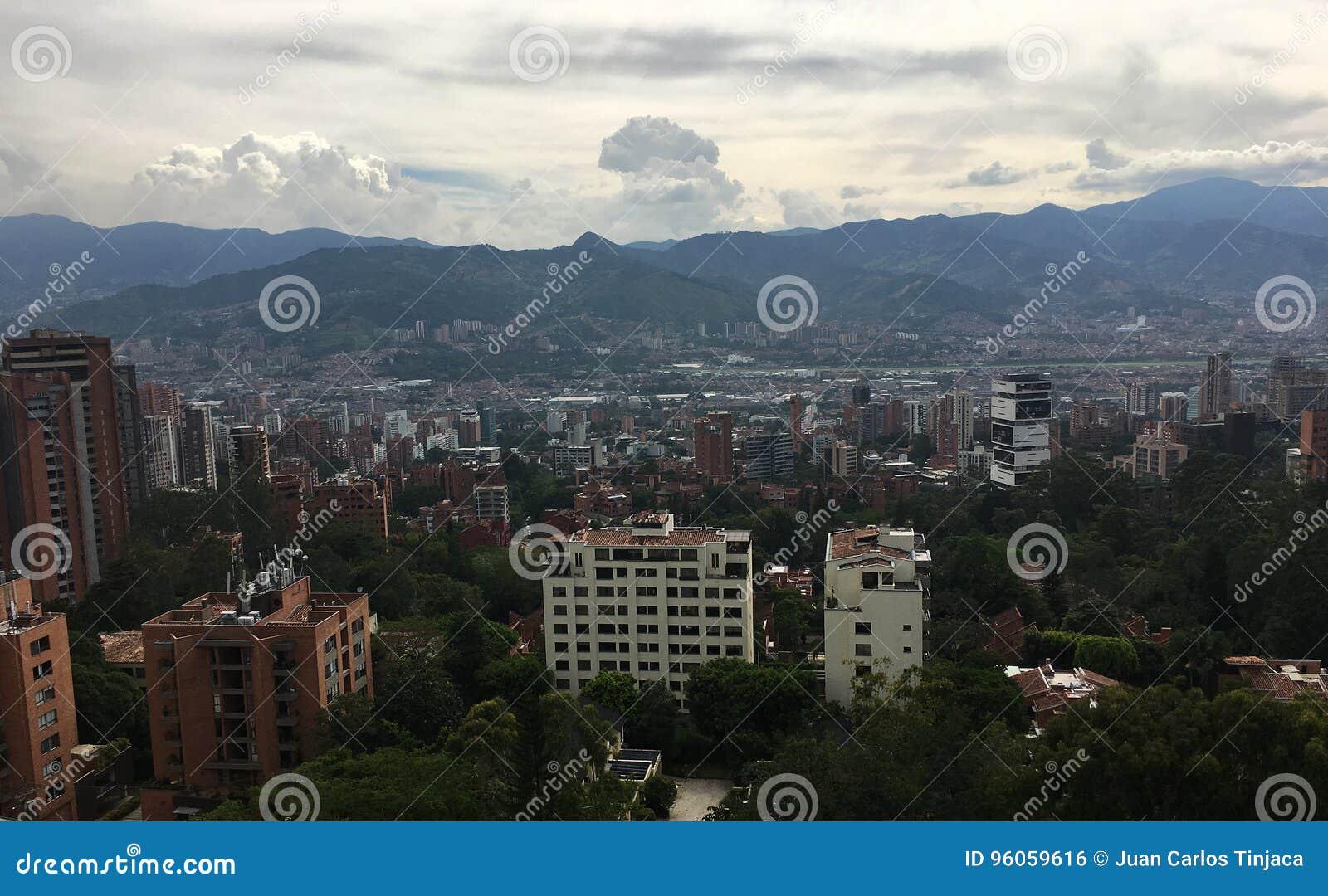 Medellin, la deuxième plus grande ville en Colombie