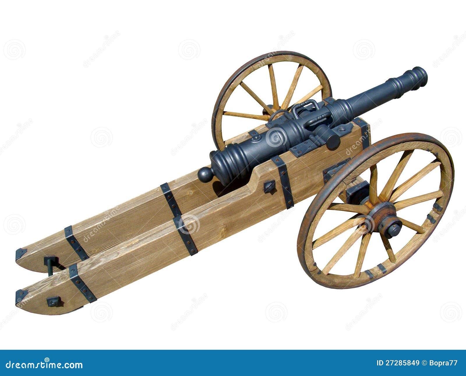 Medeltida kanon på hjul