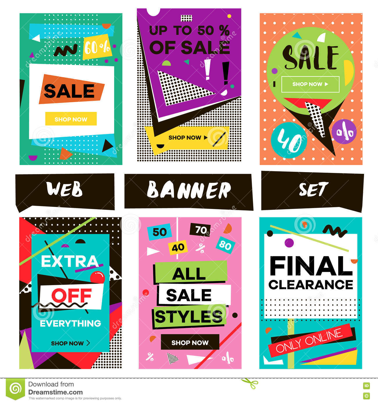 Signage cartoons illustrations vector stock images for Unique online shopping websites