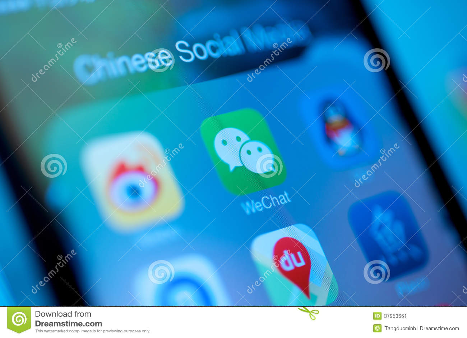 Media de Social de WeChat de Chinois