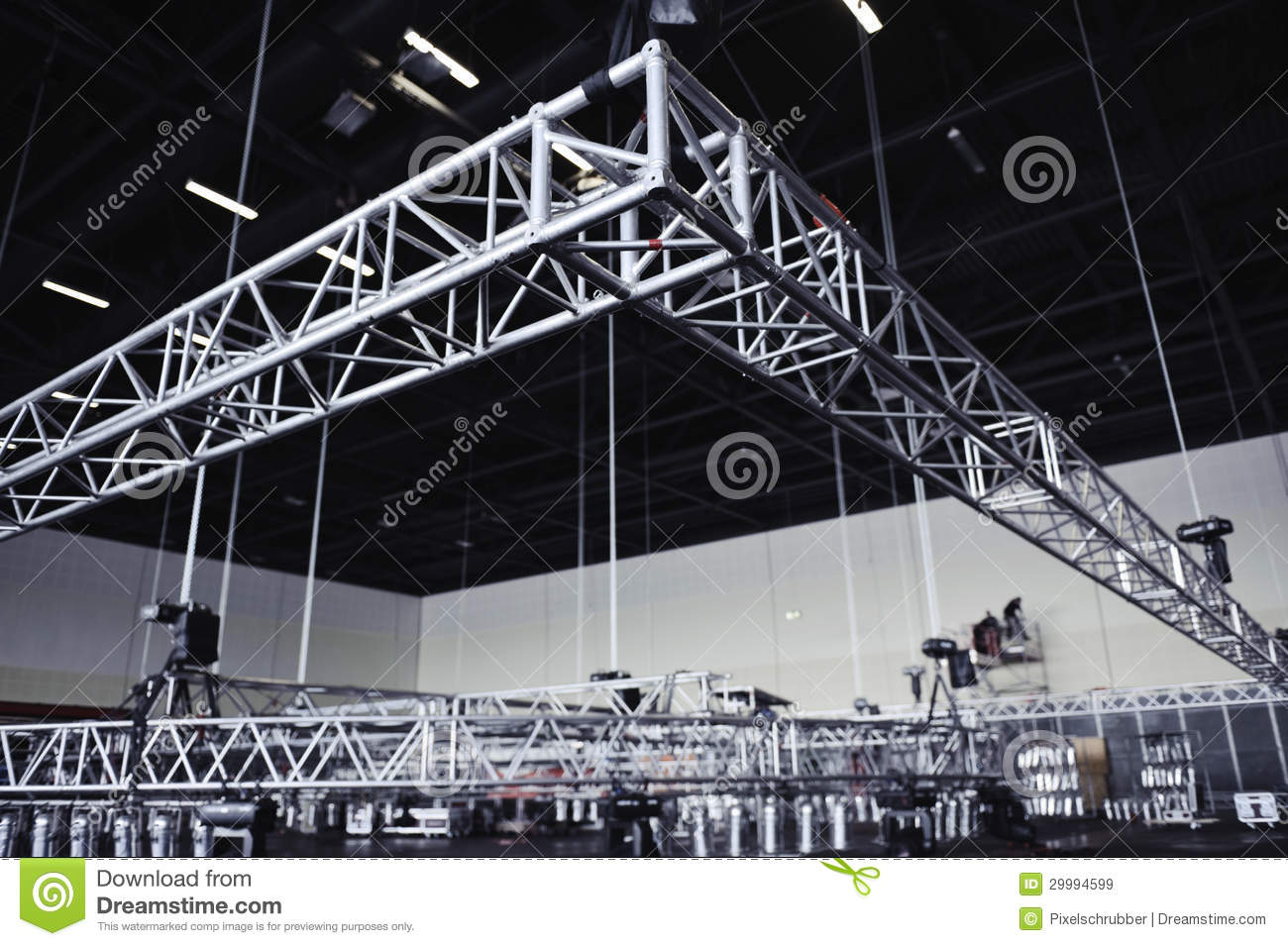 Rigging Truss Royalty Free Stock Images Image 29994599